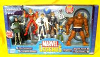 Marvel Legends - Fantastic Four Box Set with Exclusive Franklin Rchards & H.E.R.B.I.E the Robot!
